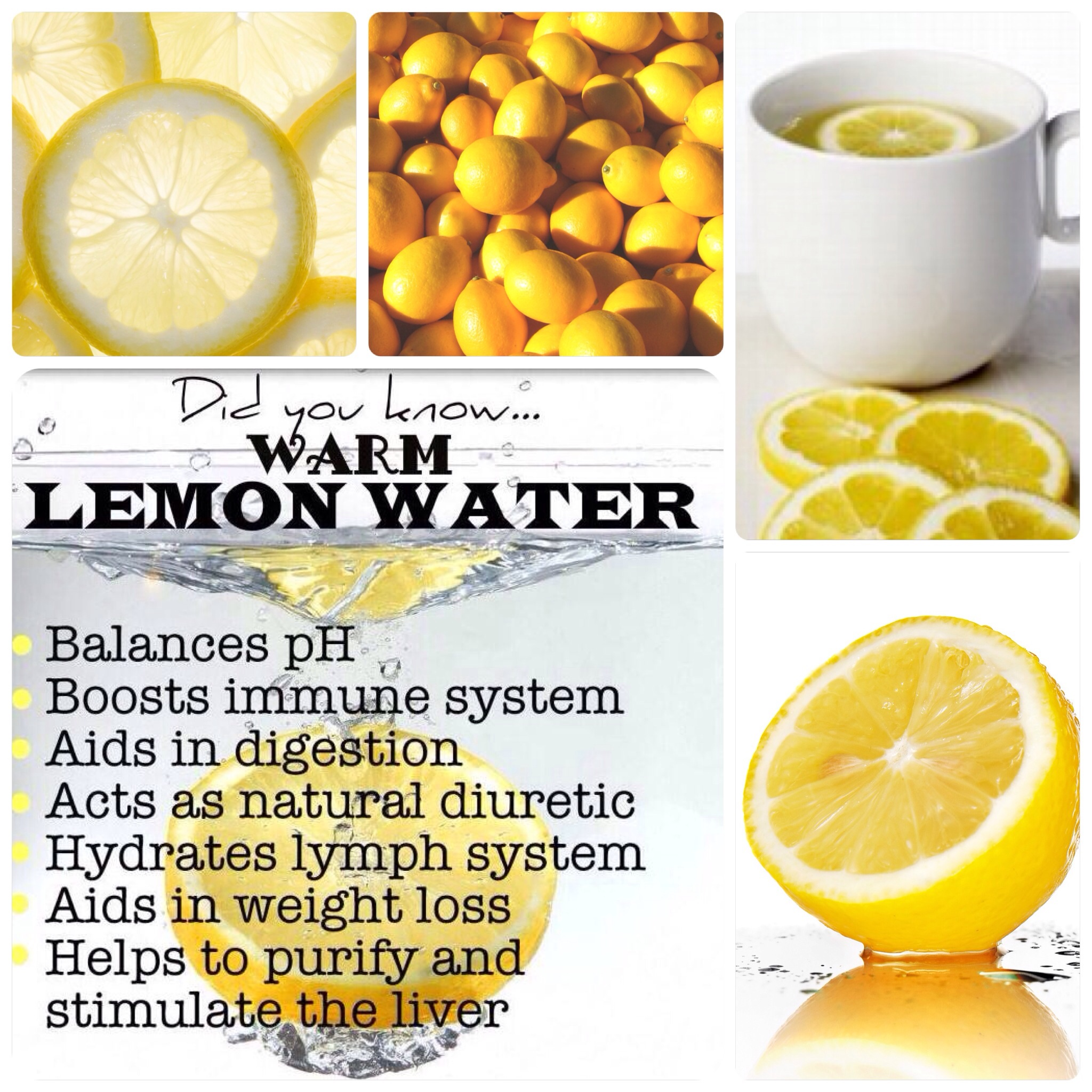 Health Benefits of Lemons, Lemon Water