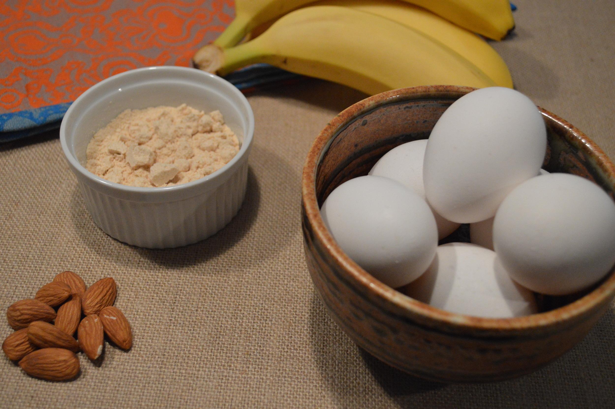 Banana Coconut Paleo Pancake Recipe