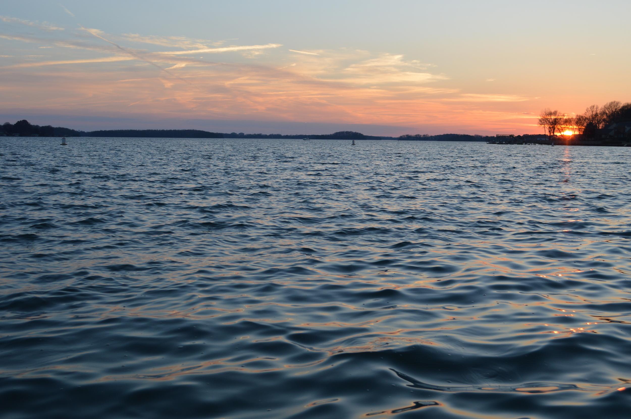 Sunset. 3.9.14 - LKN