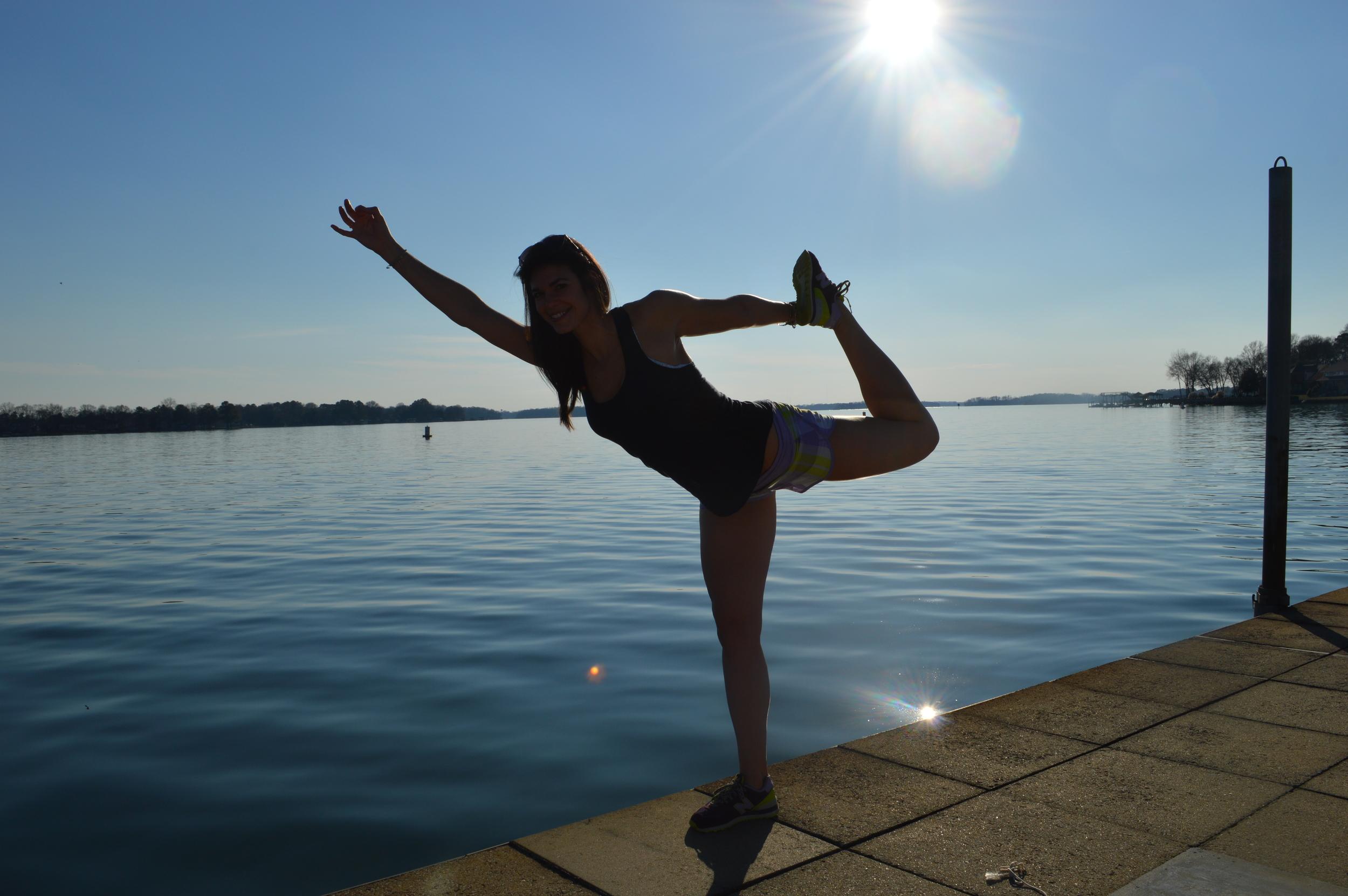 Dancer on the Water - lauren schwaiger