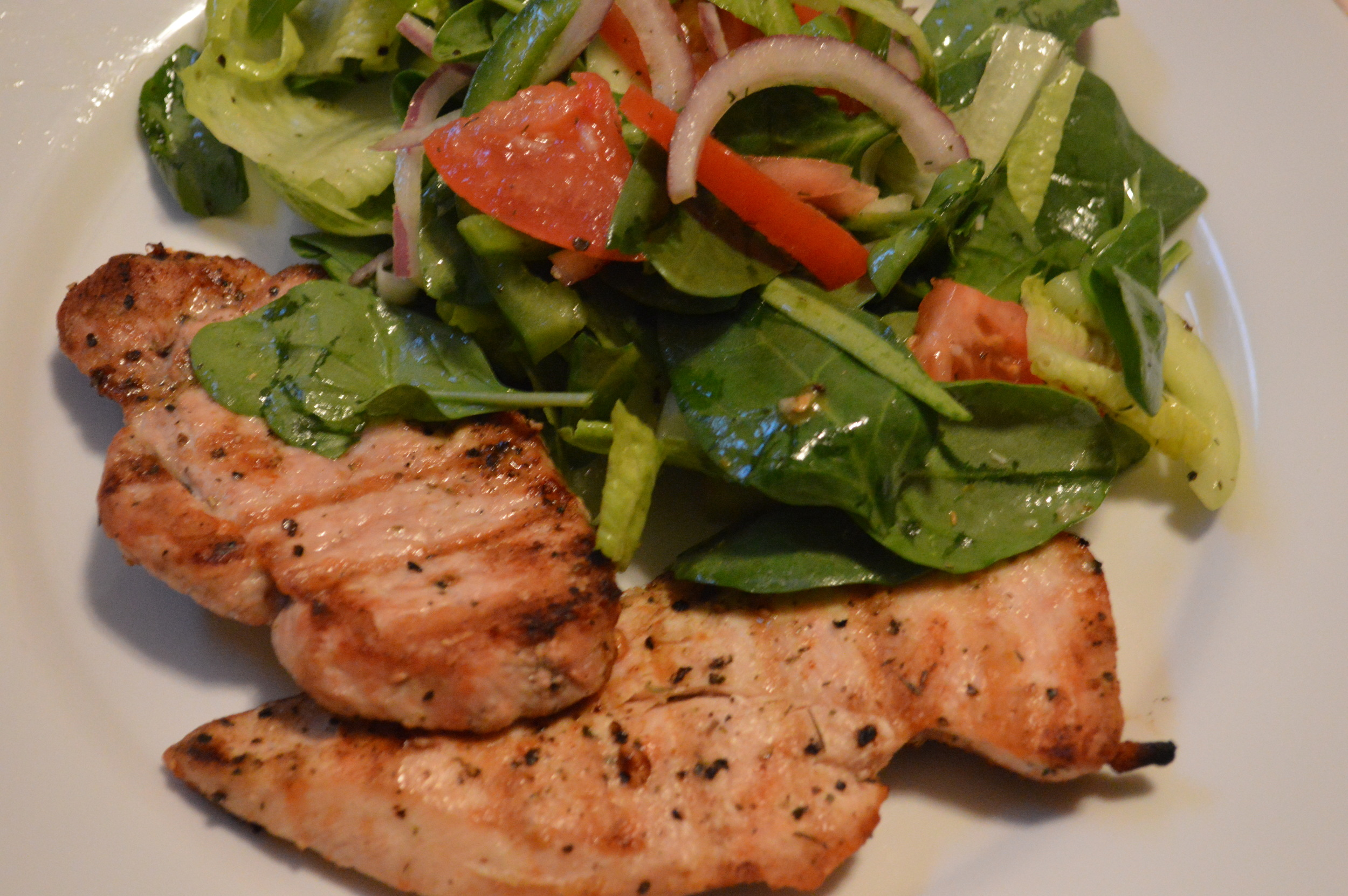 Grilled Chicken & Salad