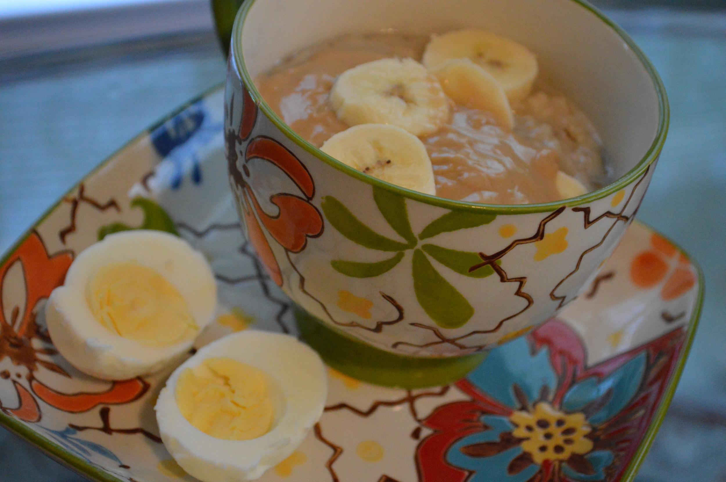 PB & Banana Oatmeal