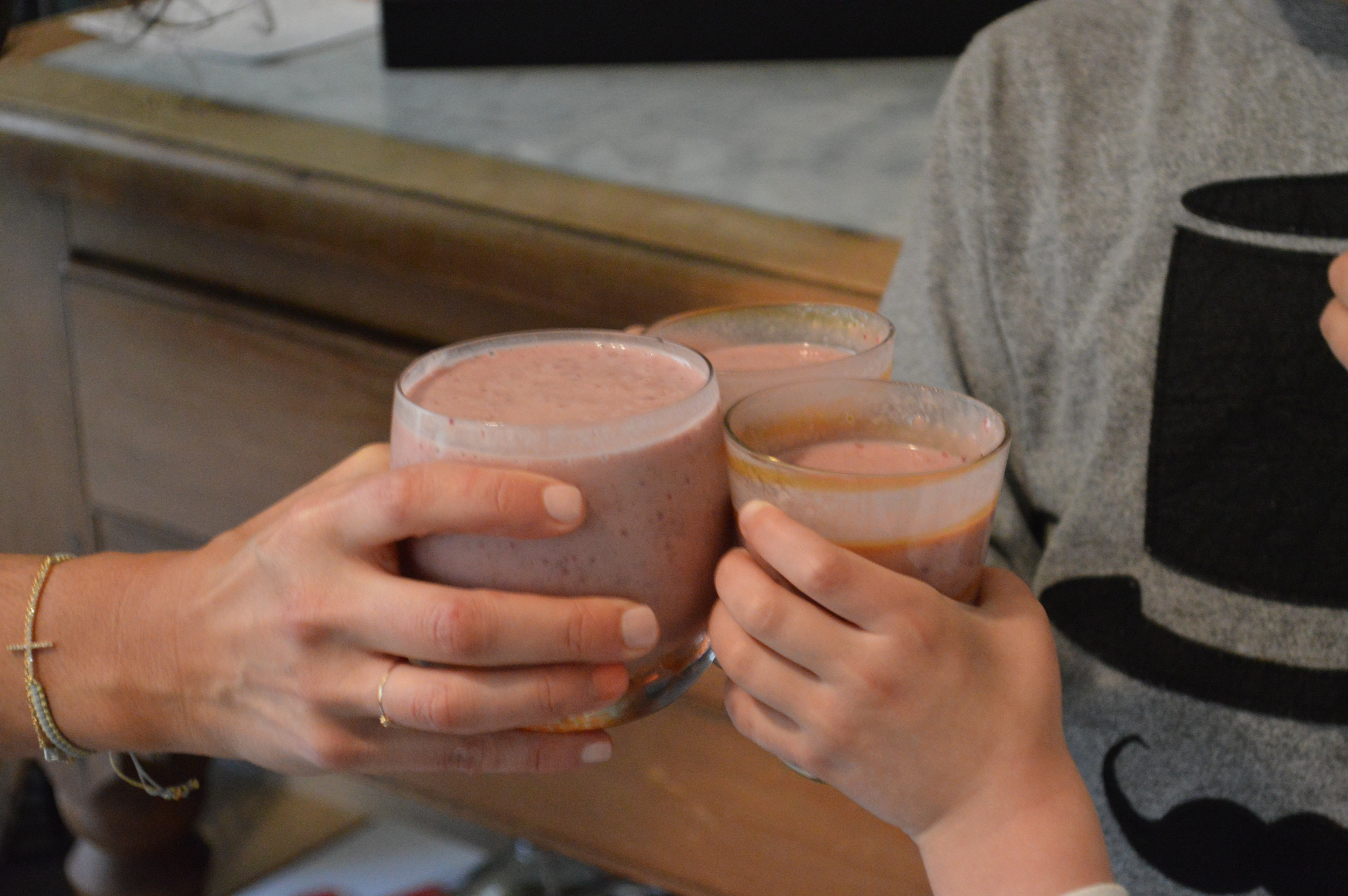 Smoothie Cheers!
