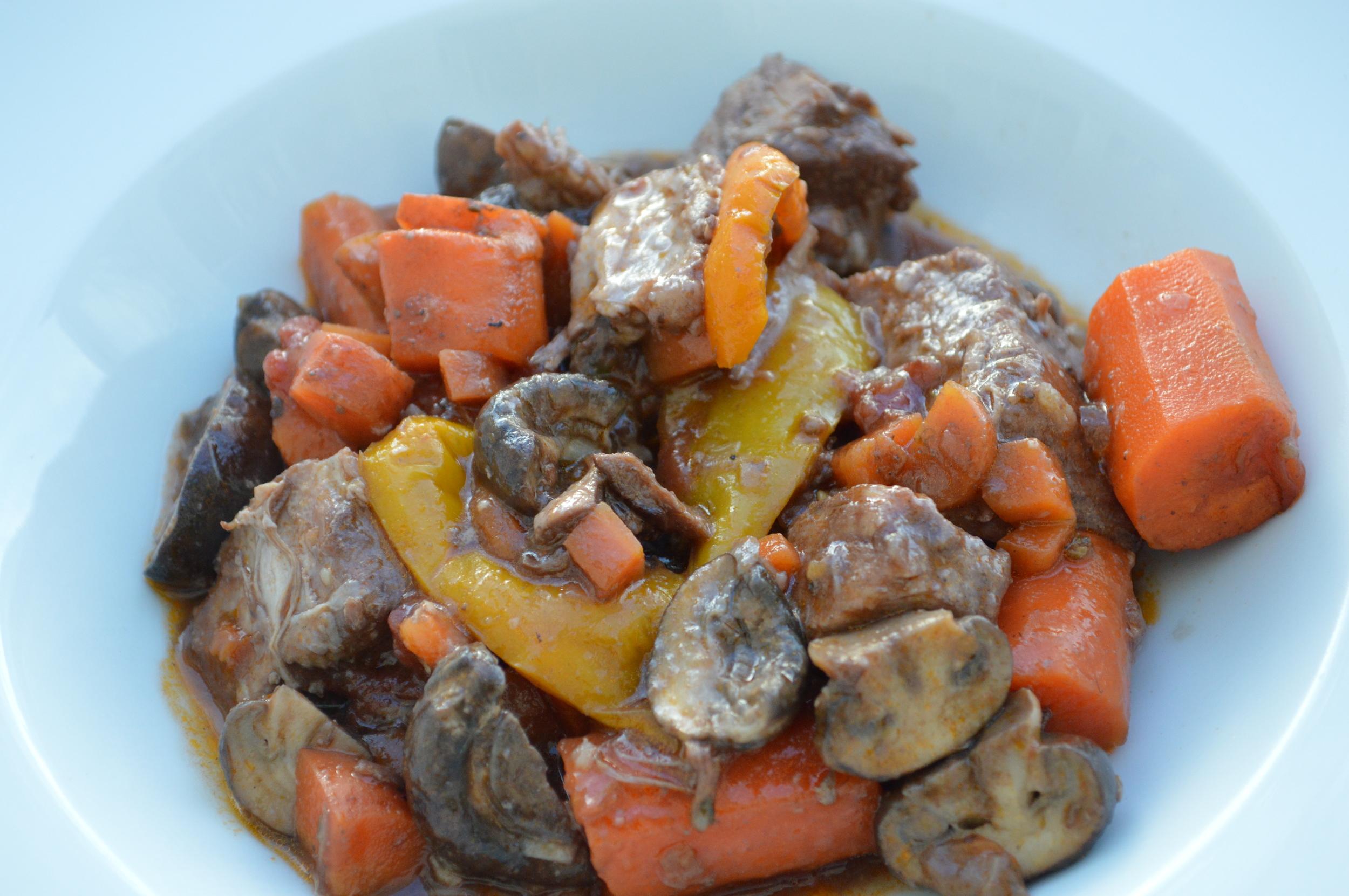 Pork Roast & Veggies