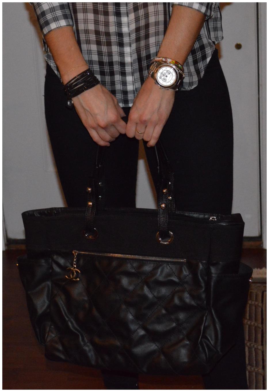 black & white accessories - auren schwaiger style