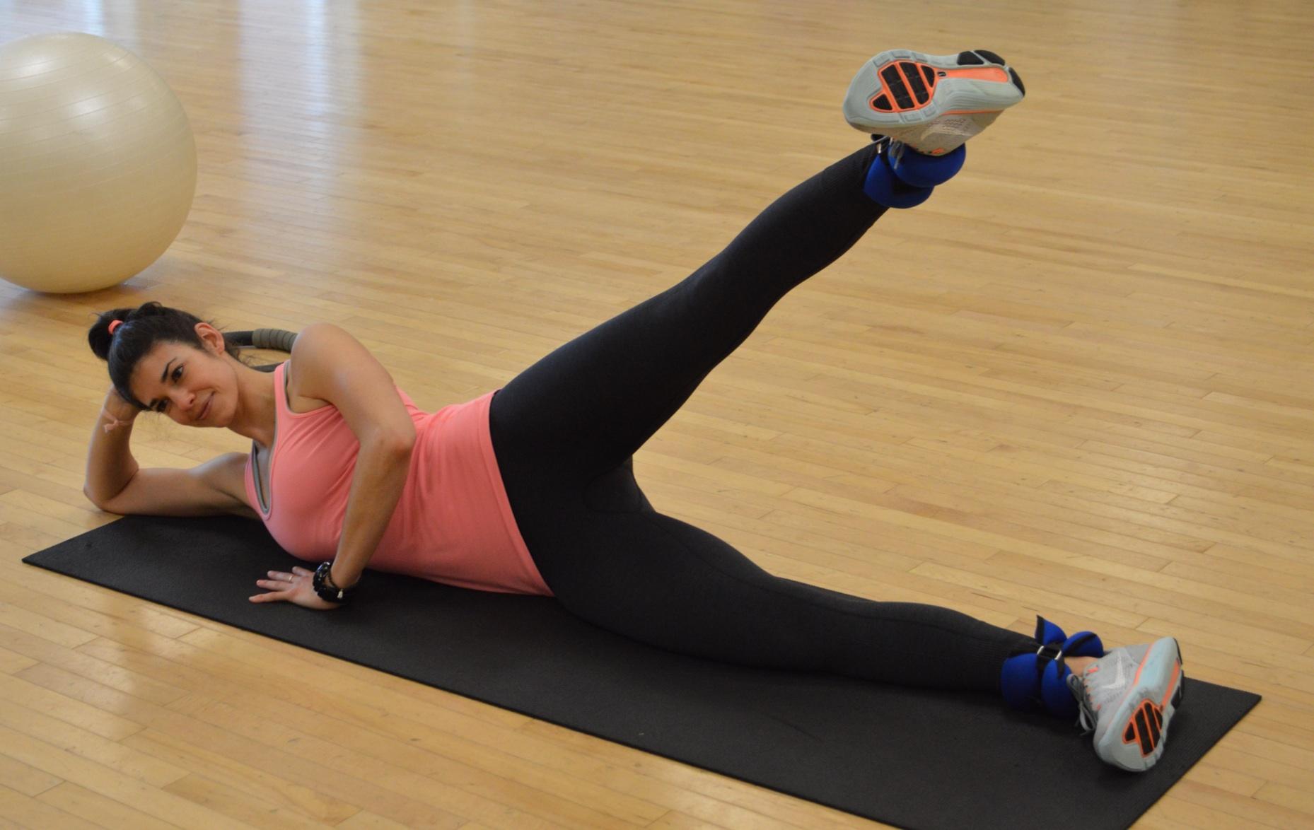 Leg Raises - Lauren Schwaiger - Fitness