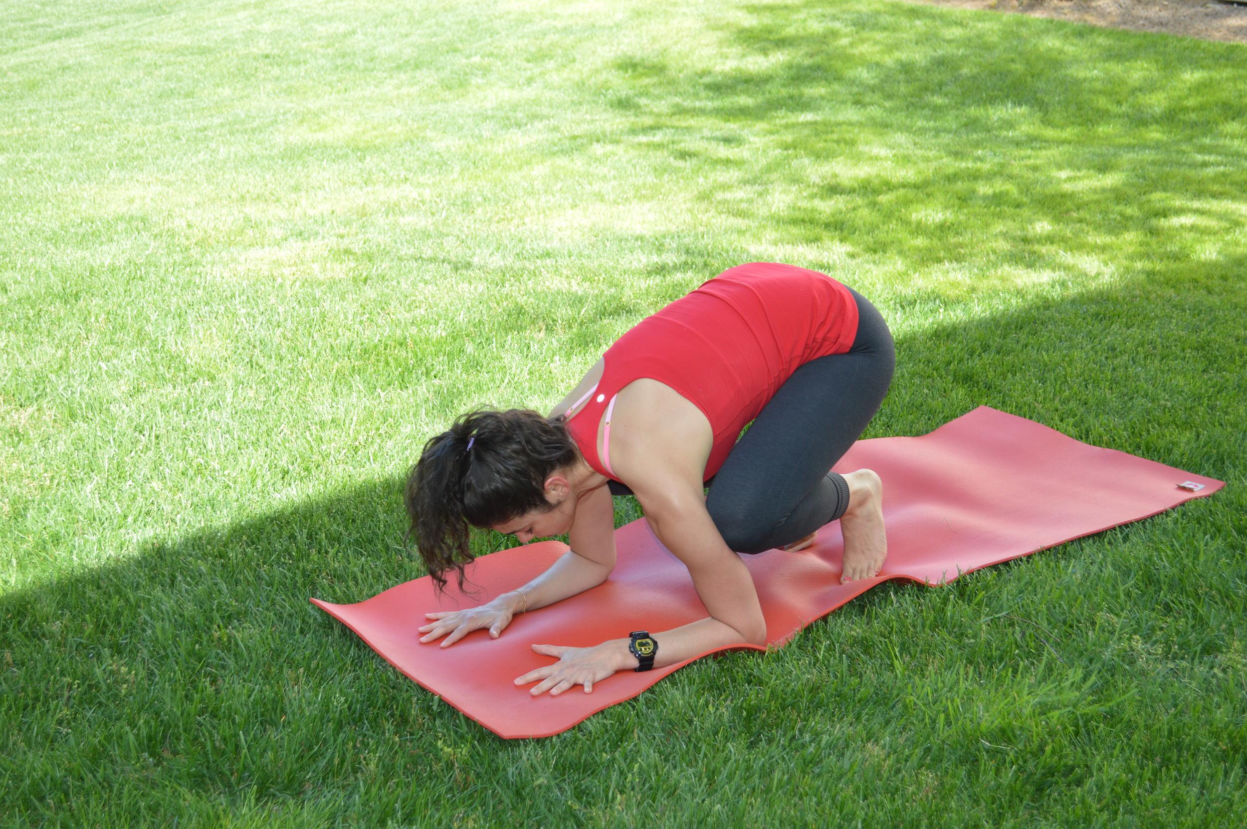 Lauren Schwaiger Yoga - Baby Crow