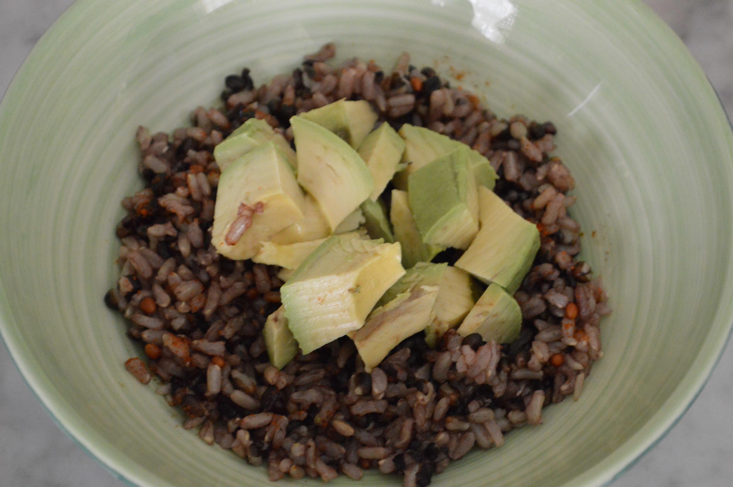 Brown + Black Rice mix