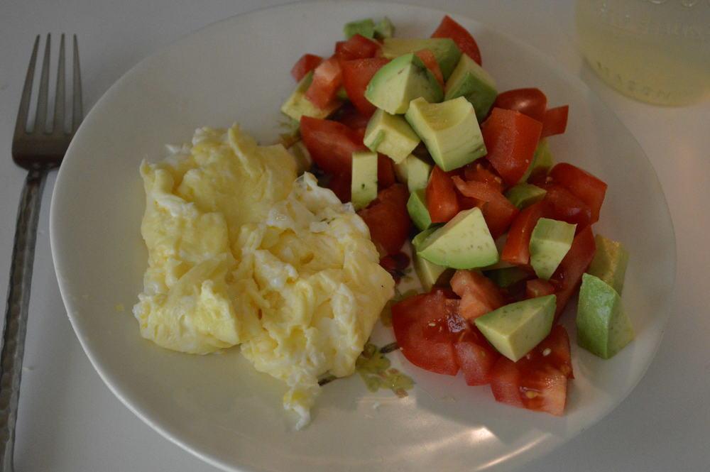 Eggs + Tomato & Avo
