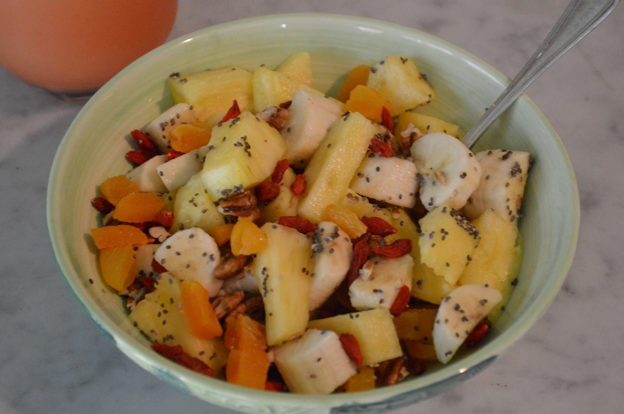 Fresh & Dried Fruit Bowl