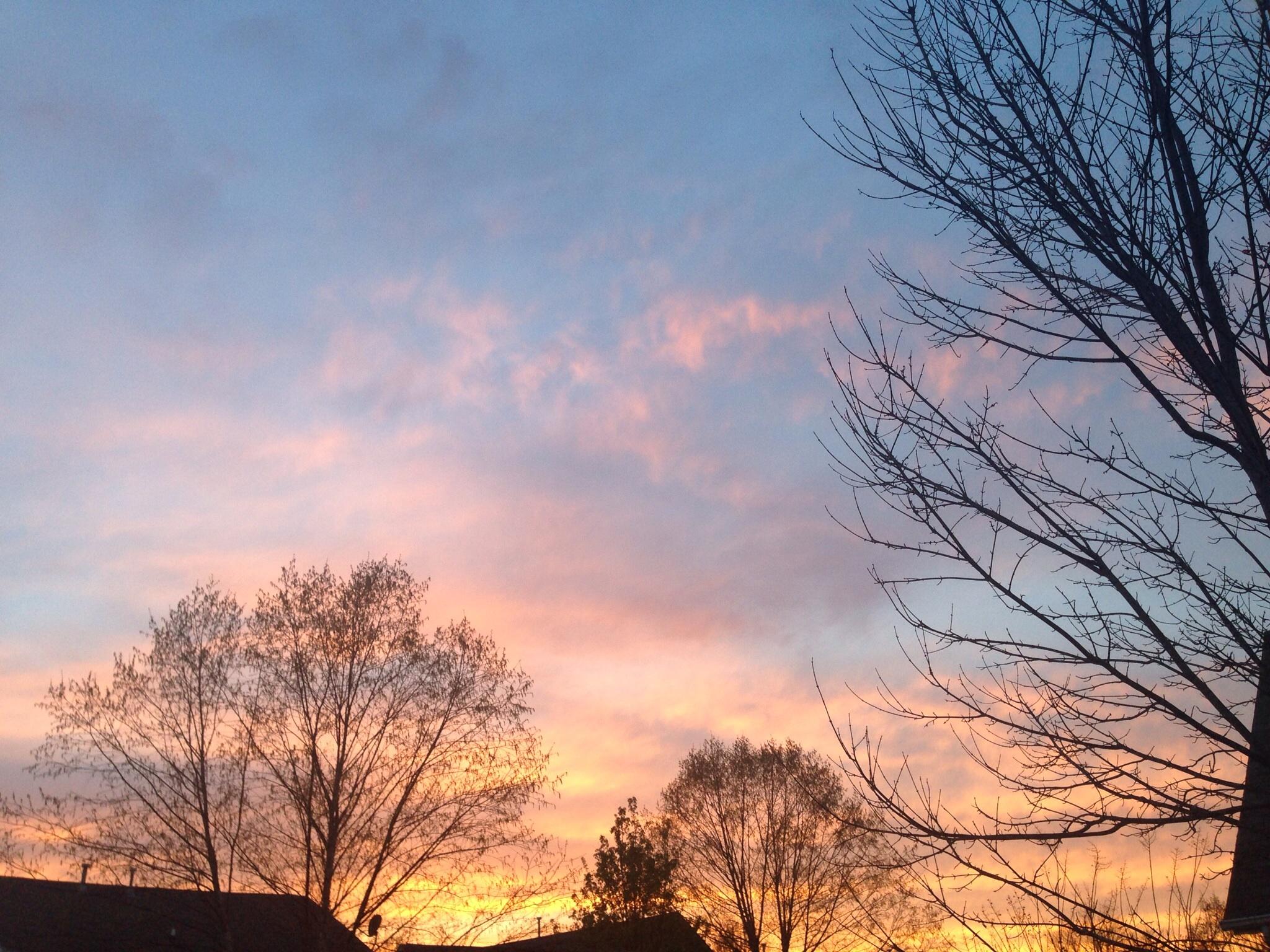 CLT - sunset