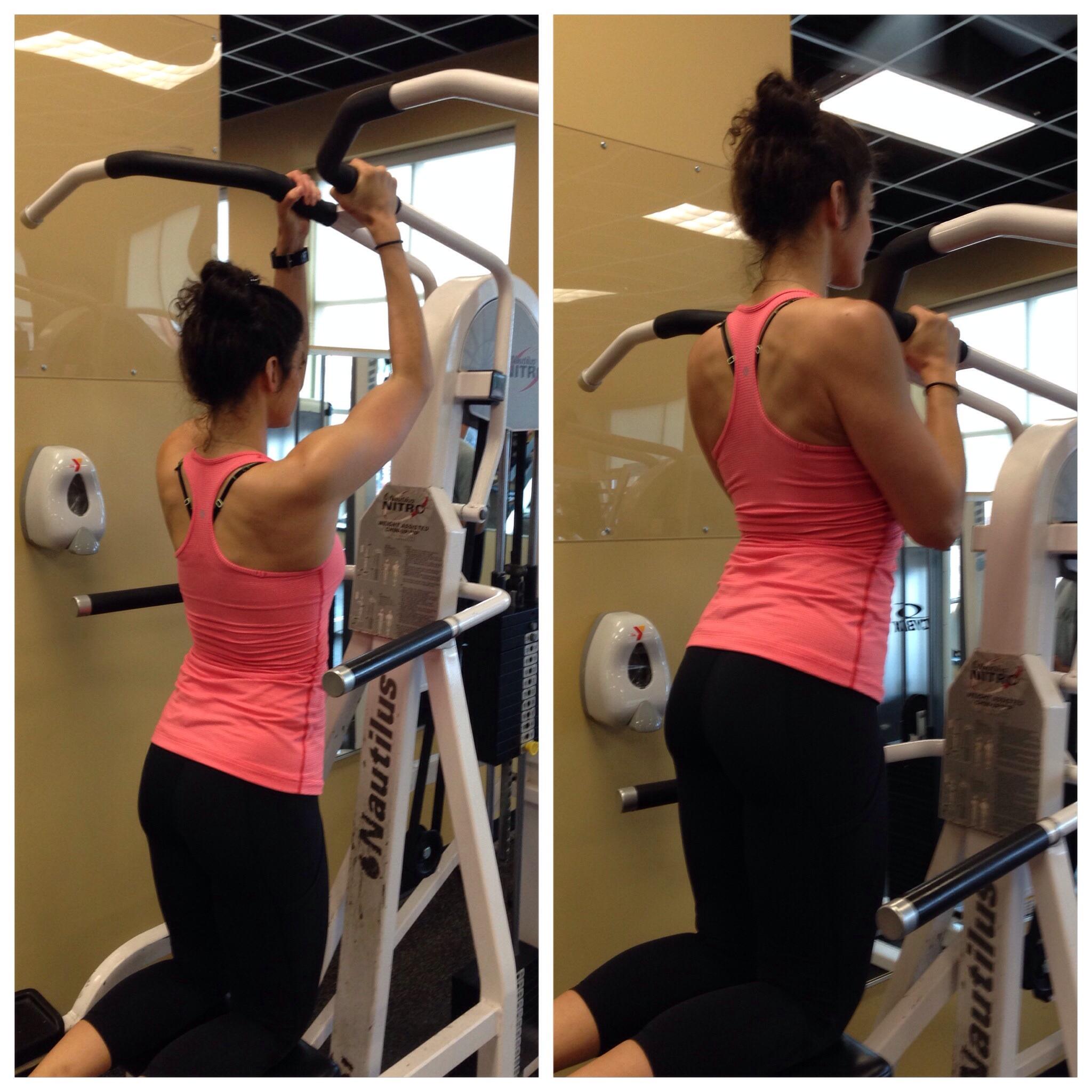 Pull Ups - Sexy Back Workout - lauren Schwaiger