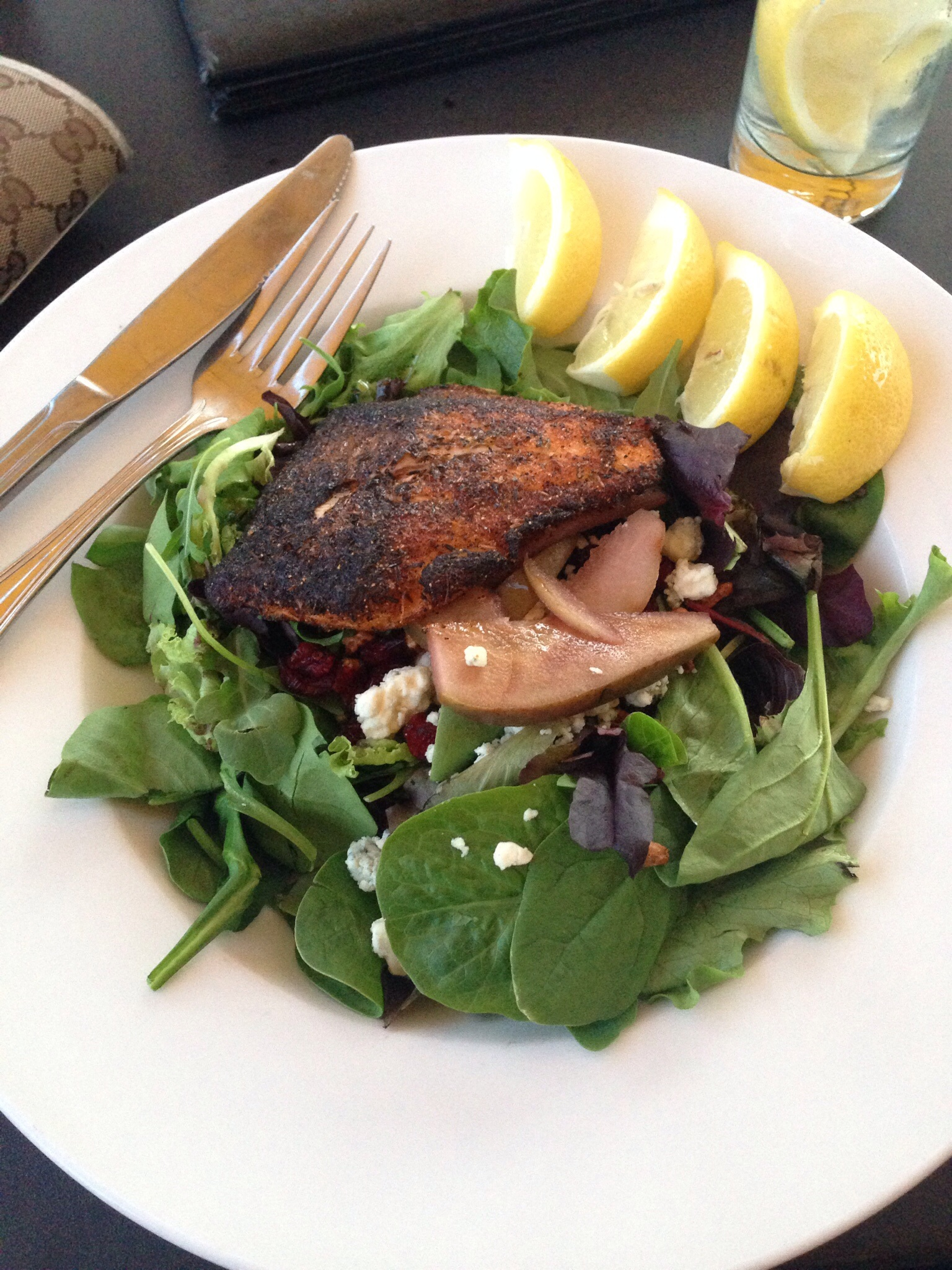 Blackened Salmon Salad - Blackthorne