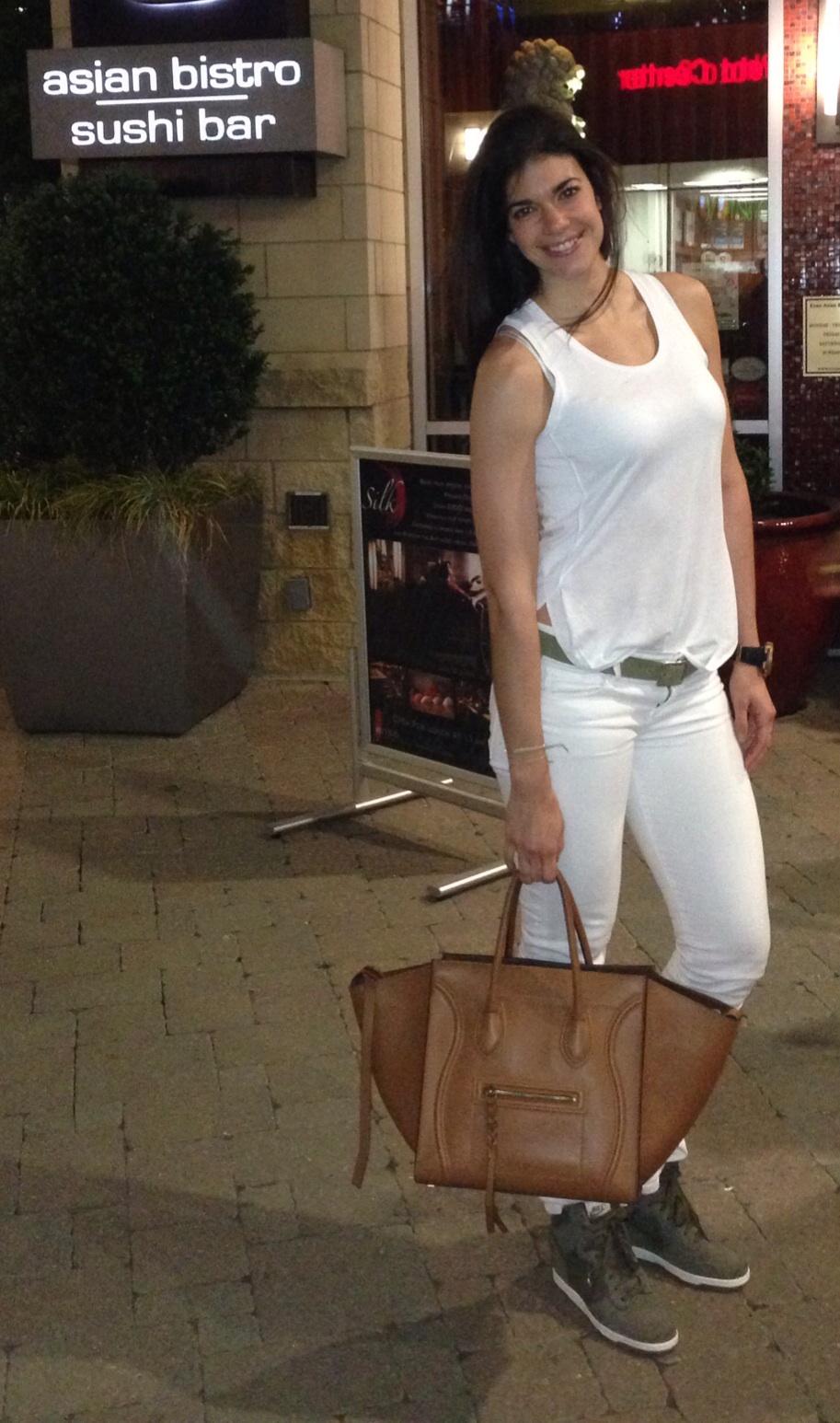 Lauren Schwaiger - white on white - spring style