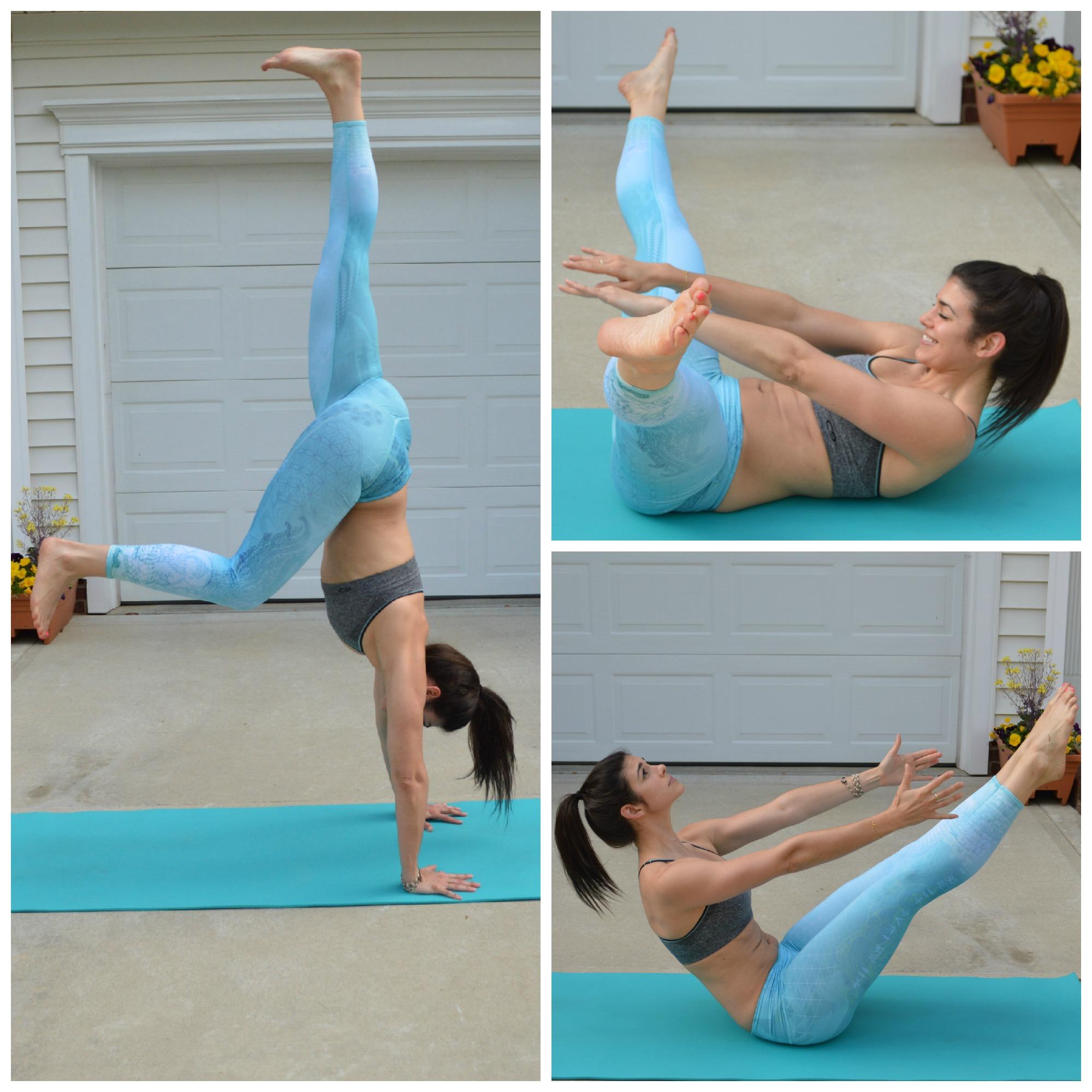 Handstand Prep - Yoga - Lauren Schwaiger