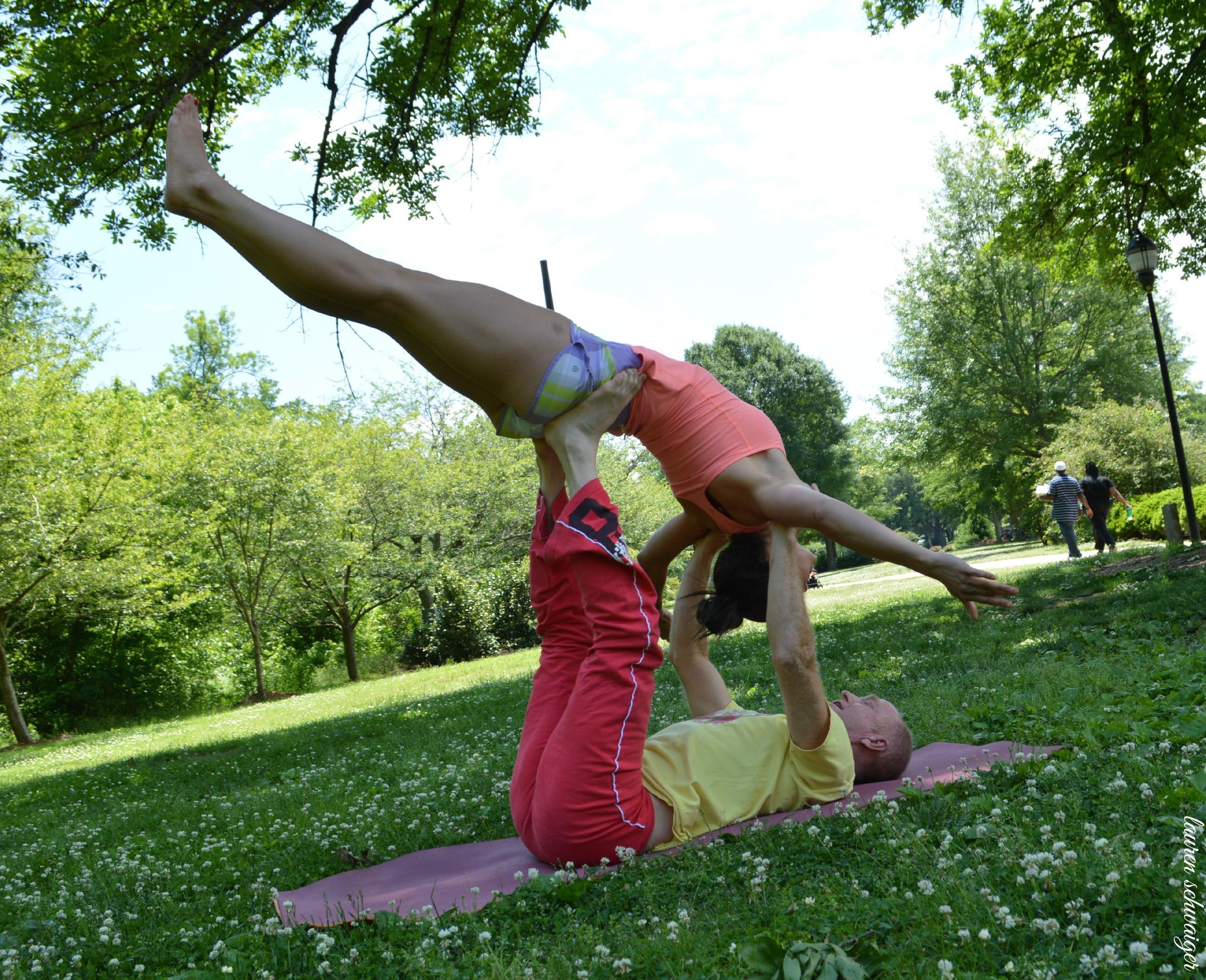 Lauren Schwaiger Yoga - Acro Yoga