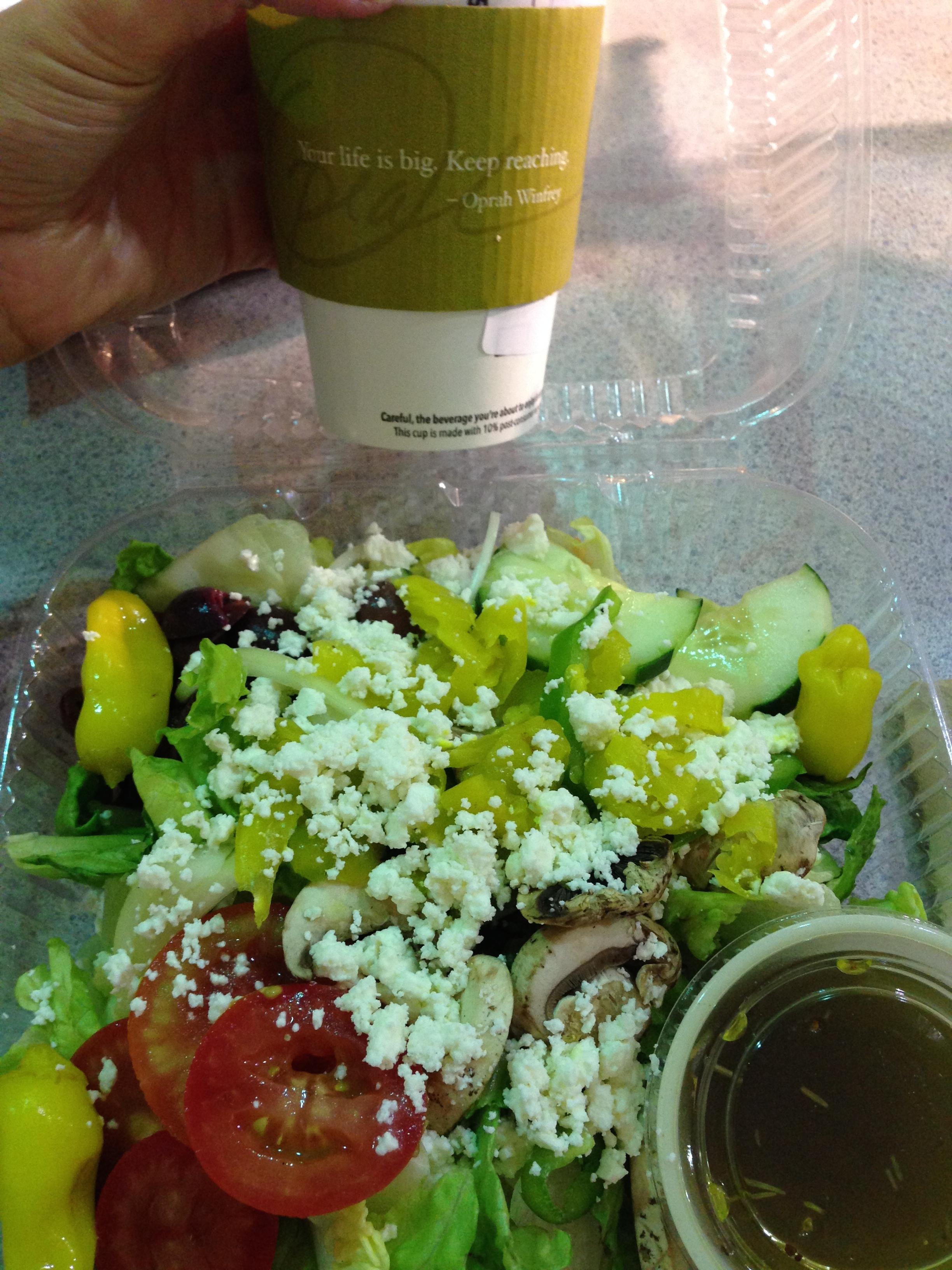 Mellow Mushroom - Greek Salad