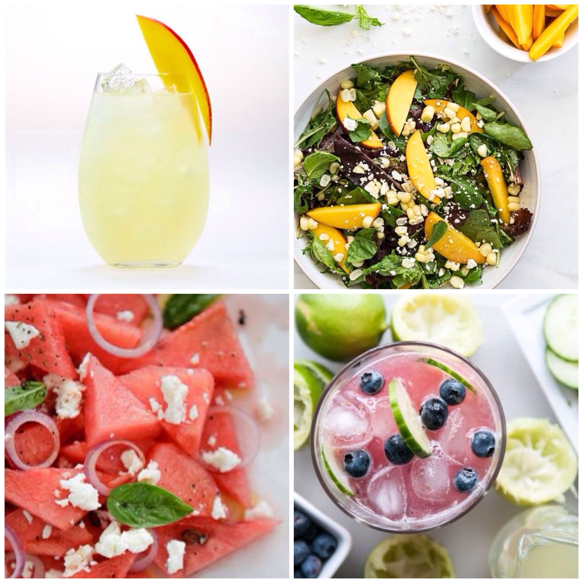 Healthy Spring Cocktails & Eats