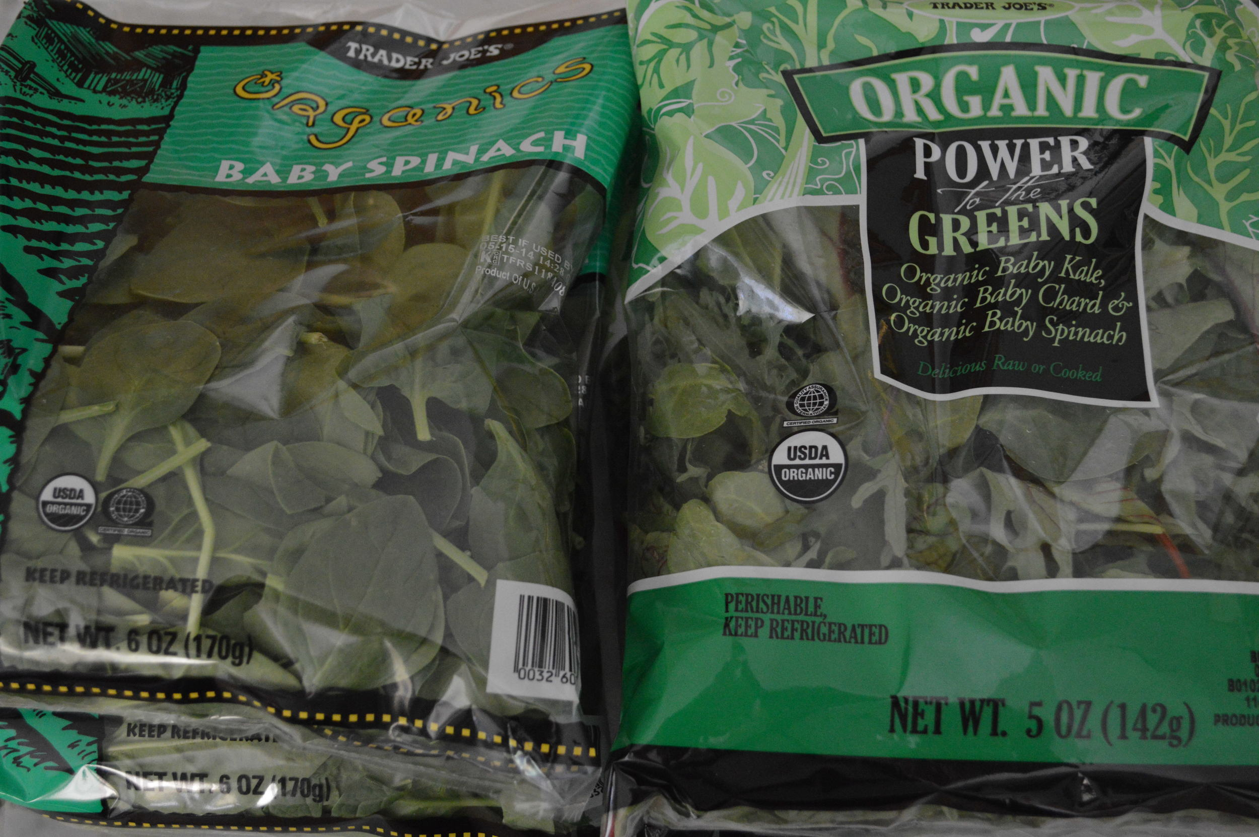 spinach & power greens