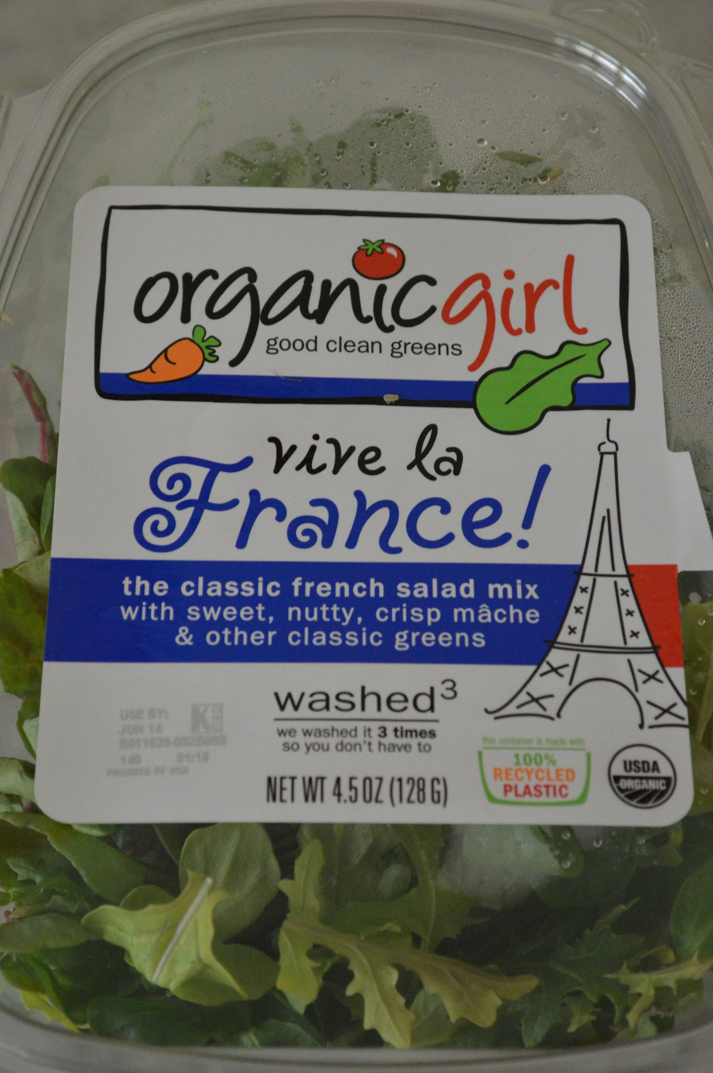 Organic Girl - Vive la France - Greens