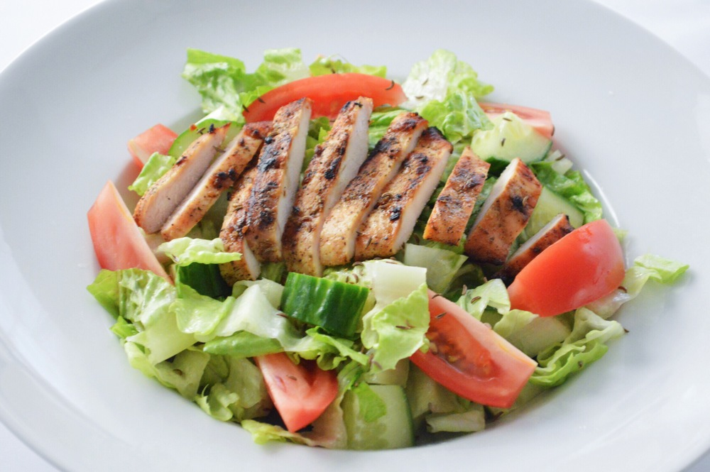 Saturday-Salad-Chopped-Romaine-Salad-with-Chicken-Kümmel-Seed-LaurenSchwaiger-Blog.jpg
