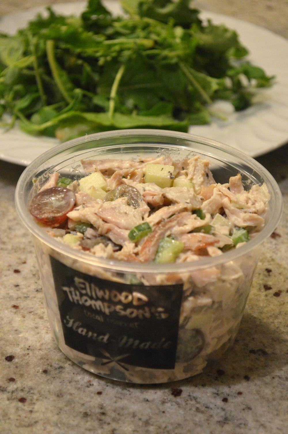 Organic Turkey Breast Salad