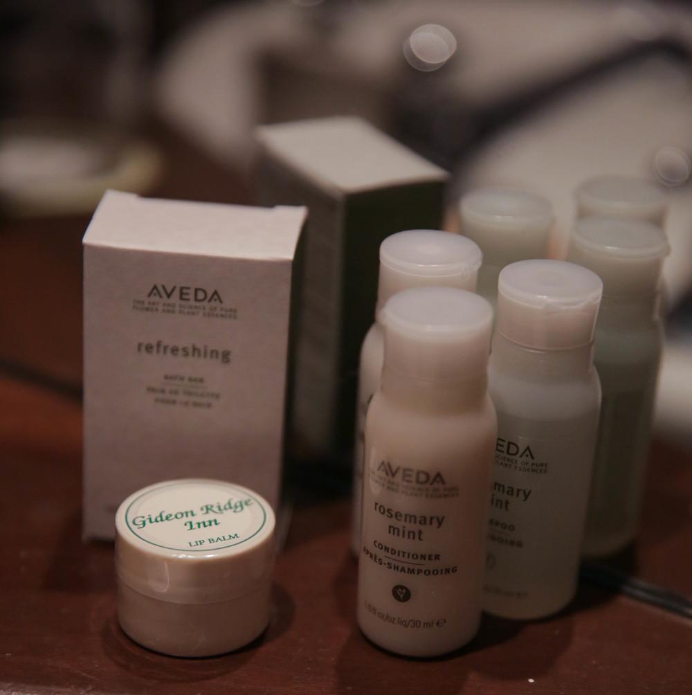 LaurenSchwaiger-Life-Style-Travel-Blog-Gideon-Ridge-Inn-Aveda-Products.jpg