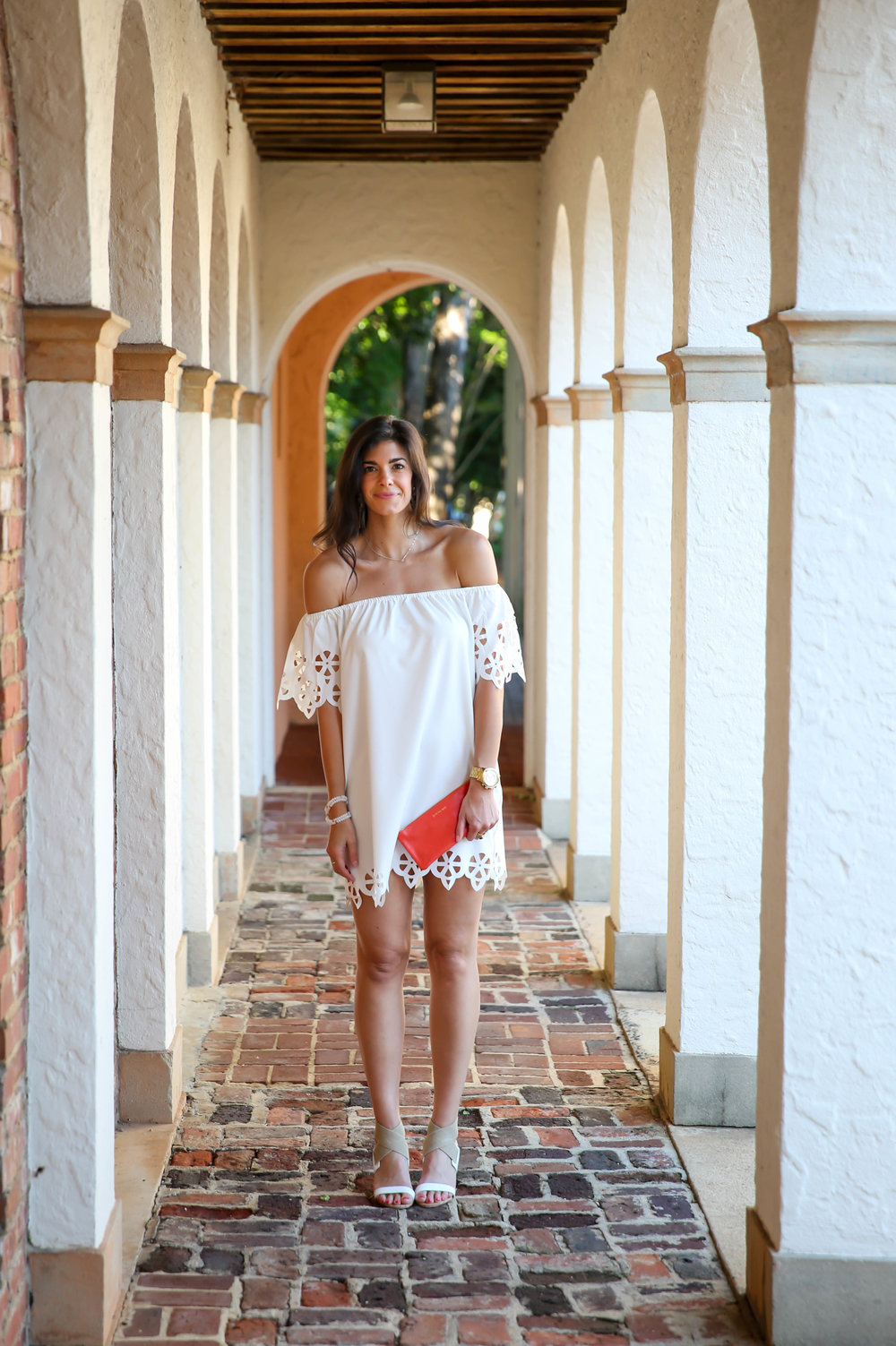 lauren-schwaiger-summer-style-white-cutout-off-the-shoulder-dress.jpg