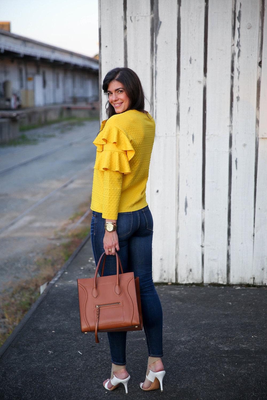 dark-denim-yellow-ruffle-sleeve-blouse-lauren-schwaiger-style-blog.jpg