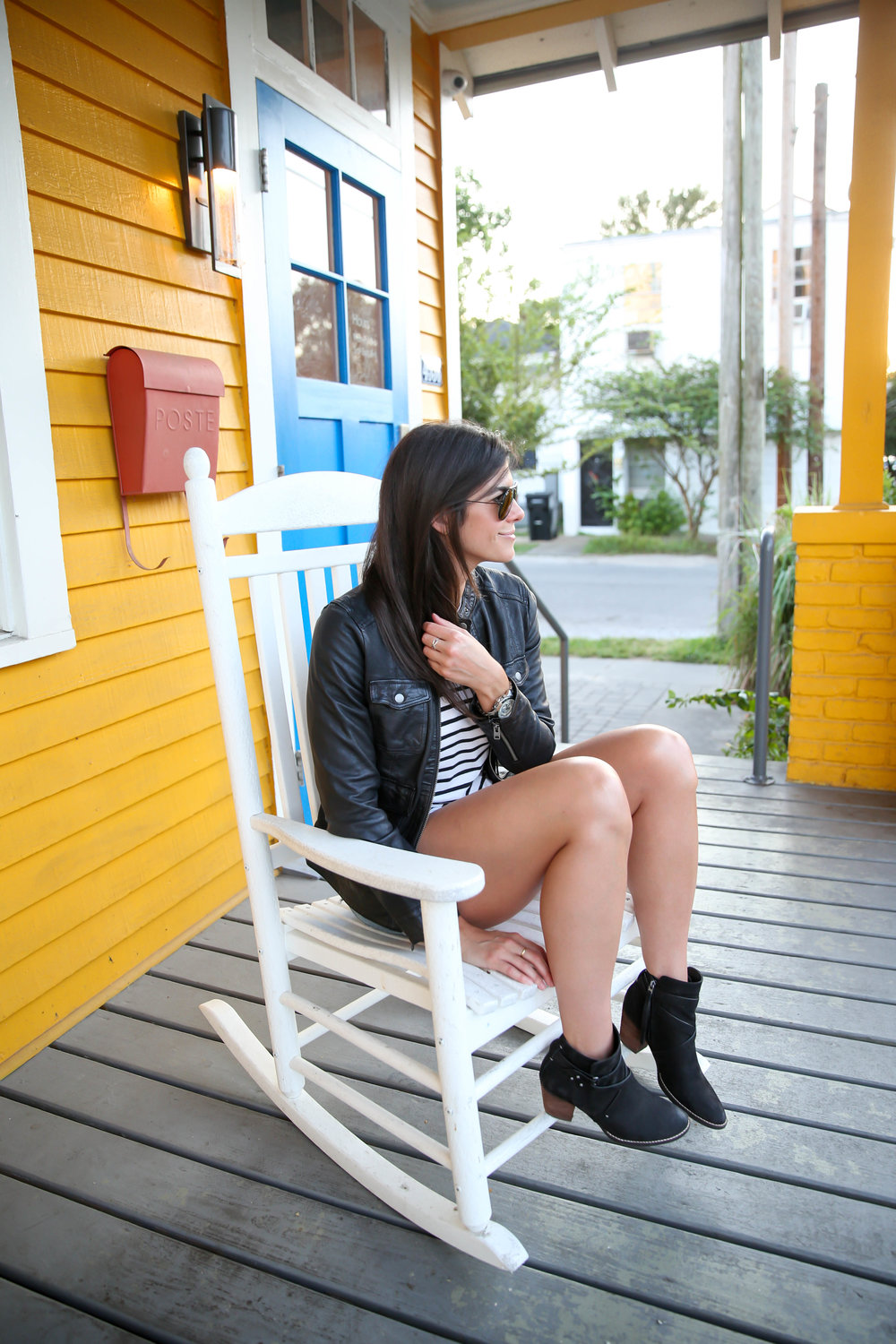 casual-chic-style-shorts-booties-stripes-leather-jacket-fall-style.jpg