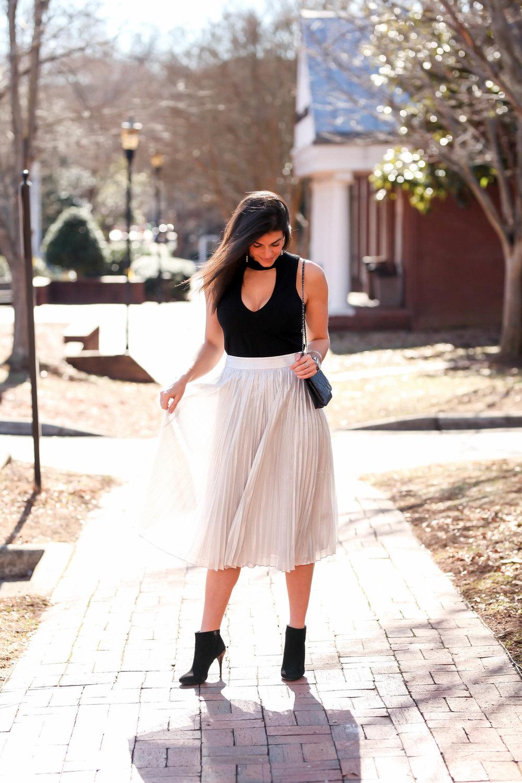 silver-skirt-black-ankle-booties-black-cutout-top-lauren-schwaiger.jpg