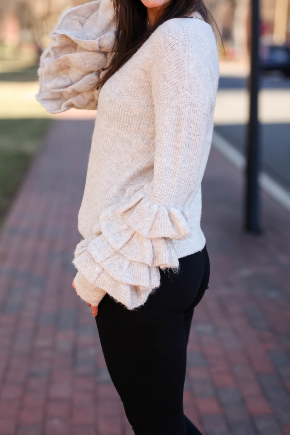 Happy Thursday, Loves! Hope Your Week Is All Kinds Of Good! Welcome Back To  Clients To Cocktails! Iu0027m Excited To Share This Simple, Yet Chic Ruffle  Sleeve ...