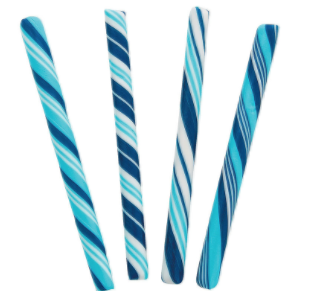 - These candy sticks are what I used for inspiration for my soap design.