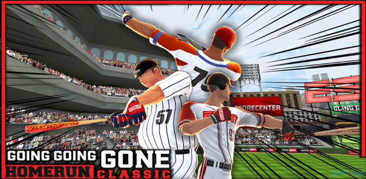 - Going Going Gone: Homerun Classic was a game developed for SkyZone Entertainment. As a designer on the project I worked with the various teams to produce a high quality and fun home-run derby style game. I would prototype out features and code the basic structure and work with the programming team for final implementation.