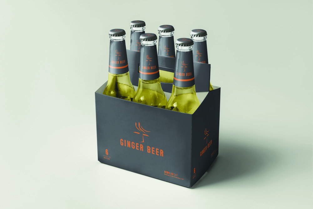 Retro Ginger Beer Mockup for Redhead Day