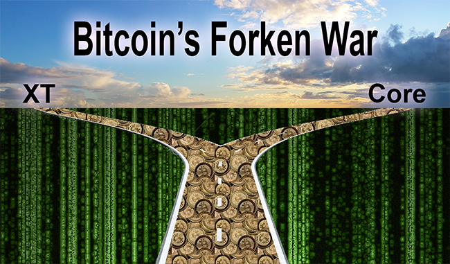 Bitcoin-Forken-War