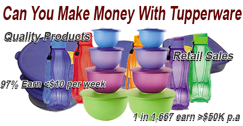 Can I Make Money with Tupperware