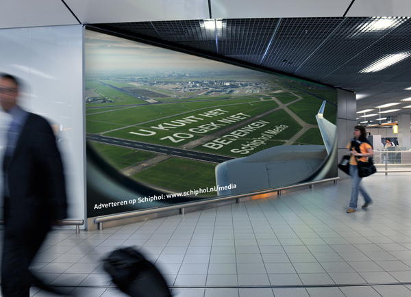 Schiphol Media advertising