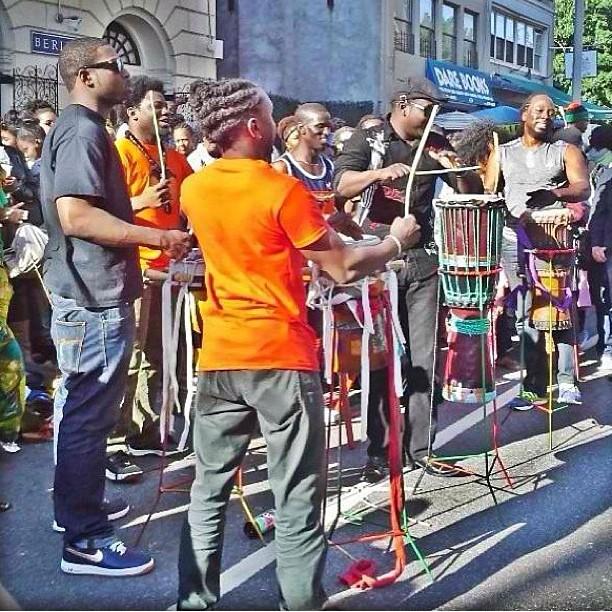 Yesterday in Brooklyn was L U V. 2LV #musica #sabar #bahkyaye #drumming #danceafrica #Artist