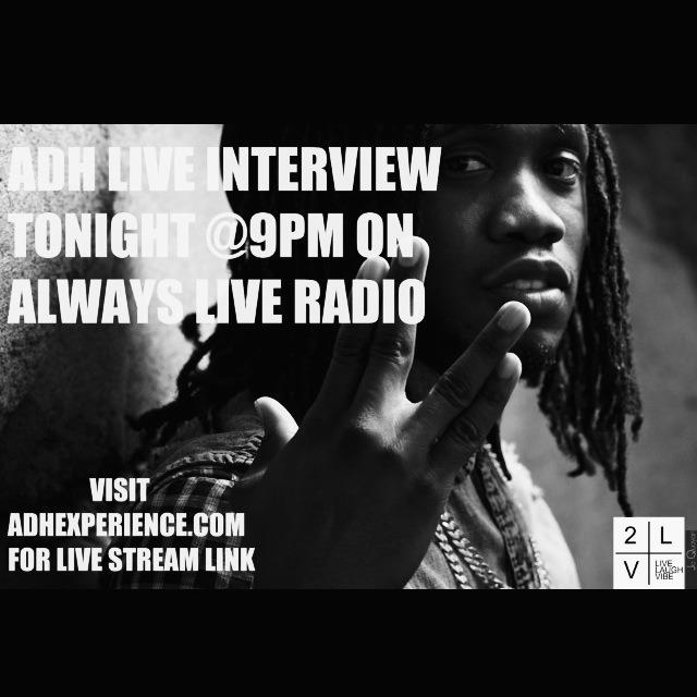 9pm!! Listen live here—>   http://stereo.wavestreamer.com:7040/listen.pls