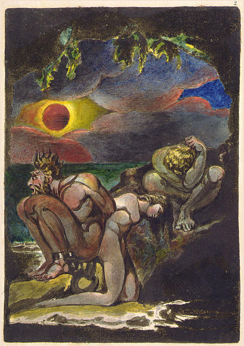The Cave by William Blake