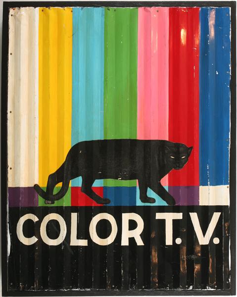 nevver: COLOR TV