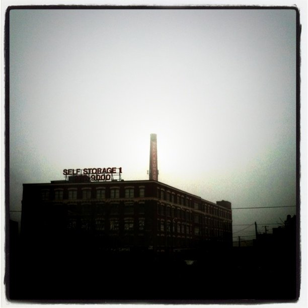 Fog (Taken with Instagram at Clybourn Metra Station)