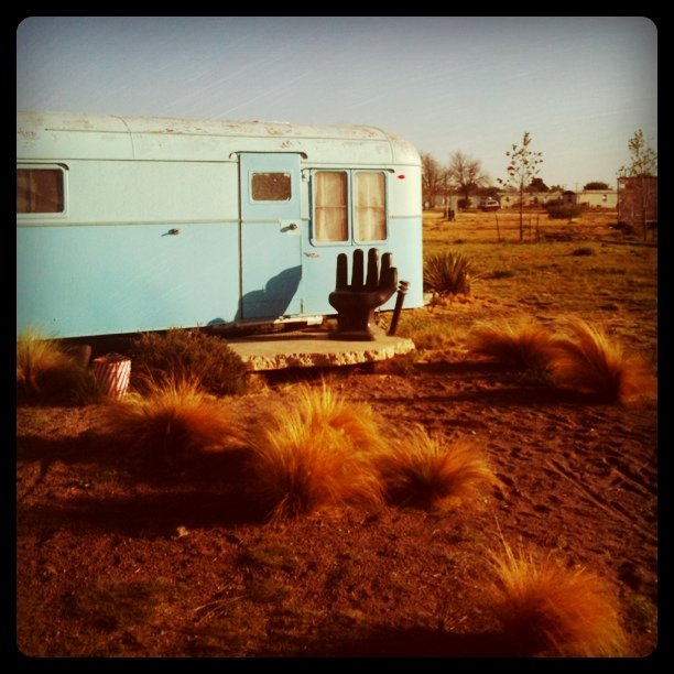 Our mobile home (Taken with Instagram at Marfa, TX)