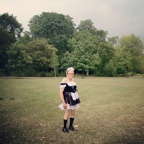 french maid (Taken with Instagram)