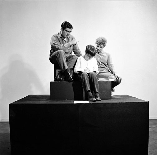 iheartmyart: Oscar Bony, La Familia Obrera, 1968 The family was paid twice the minimum wage to pose as an installation.