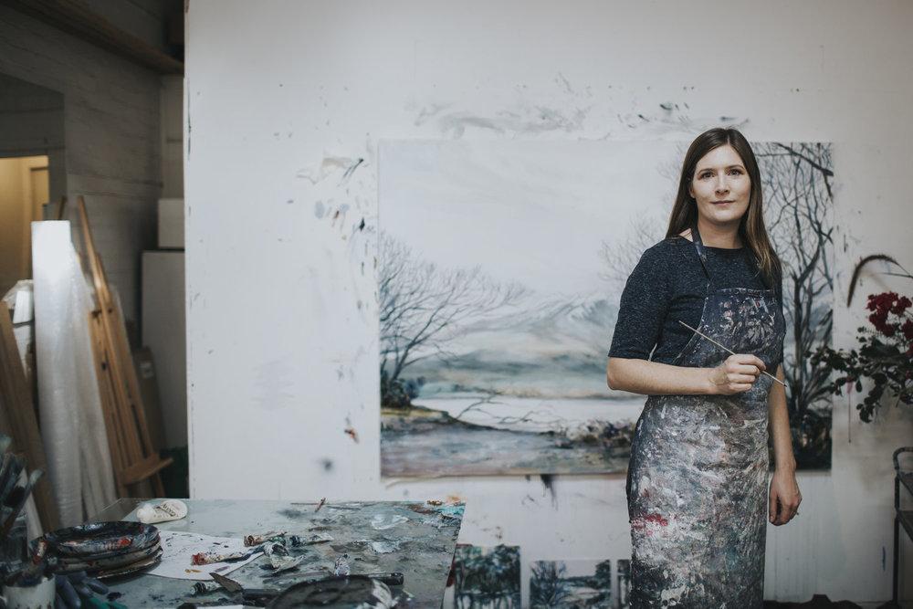Carla hananiah - Australian landscape painter