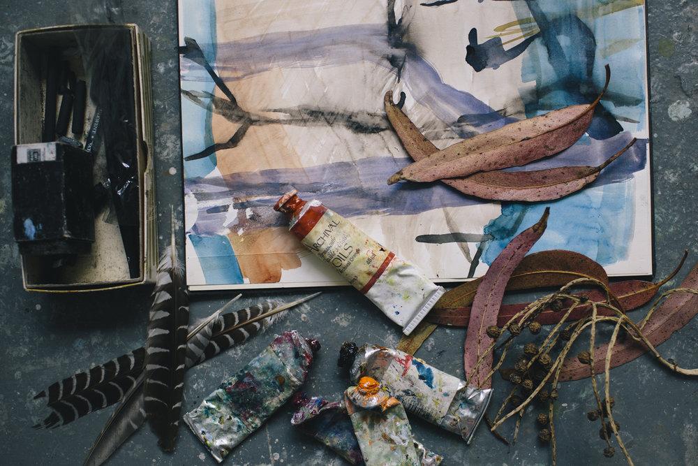 susan baird - Australian lanscape painter