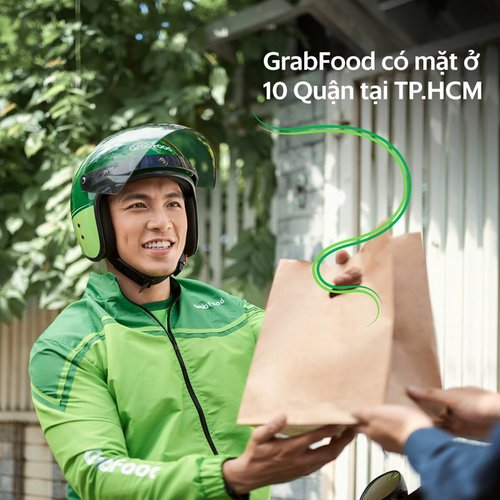 Chụp ảnh quảng cáo GrabFood. Ảnh: MAKI