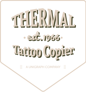 Thermal tattoo copier